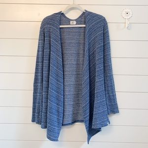 Women's Blue Volcom Ready to Go Wrap Sweater